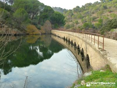 Garganta de Picadas - Vía Verde del Alberche; excursiones cerca madrid;rutas por la pedriza